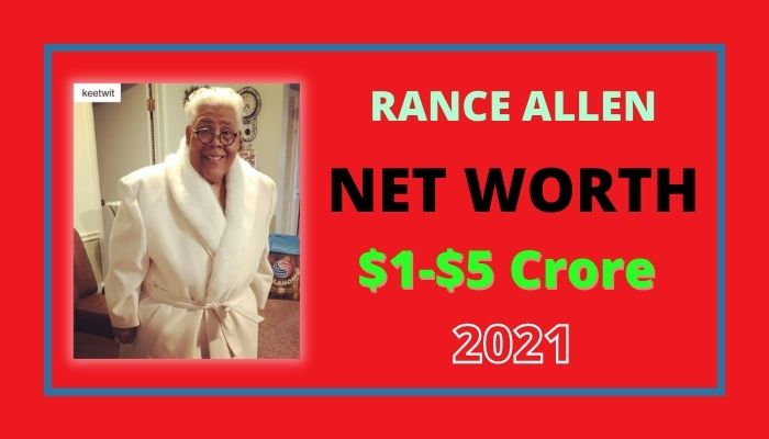 Rance Allen Net Worth 2021, Biography, Age, Wife, Car's, Income & Wiki