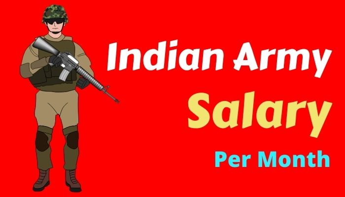 Indian Army Salary Per Month