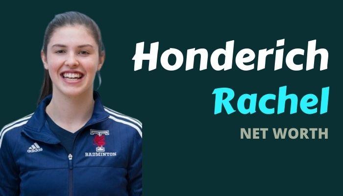 Rachel Honderich Net Worth