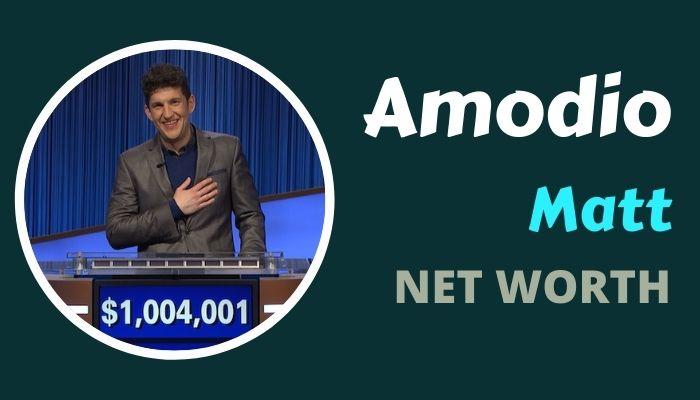 Matt Amodio Net Worth